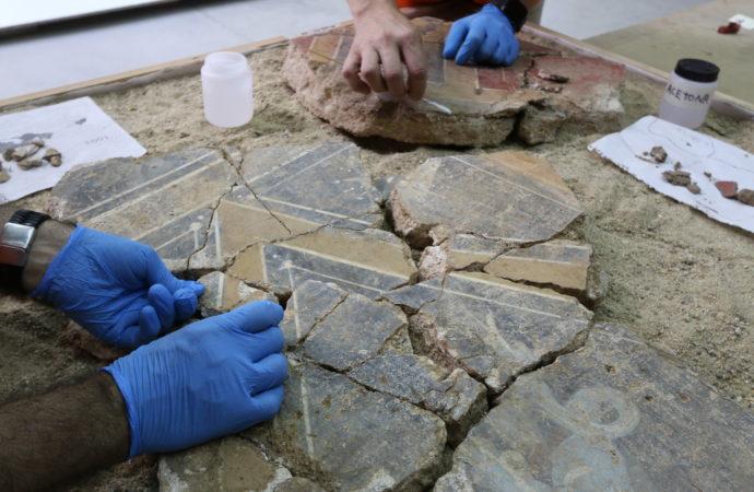 Complutum, ciudad romana de Alcalá: comienzan los trabajos de restauración de la Casa de los Grifos