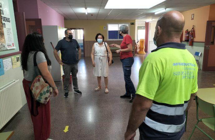 Más de 200 actuaciones en los centros educativos de San Fernando desde el mes de enero