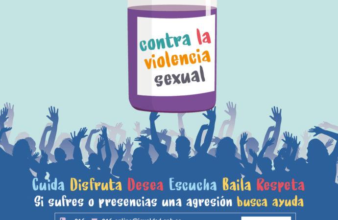 """""""Alcalá se vacuna contra la violencia sexual"""" en las Fiestas 2021"""