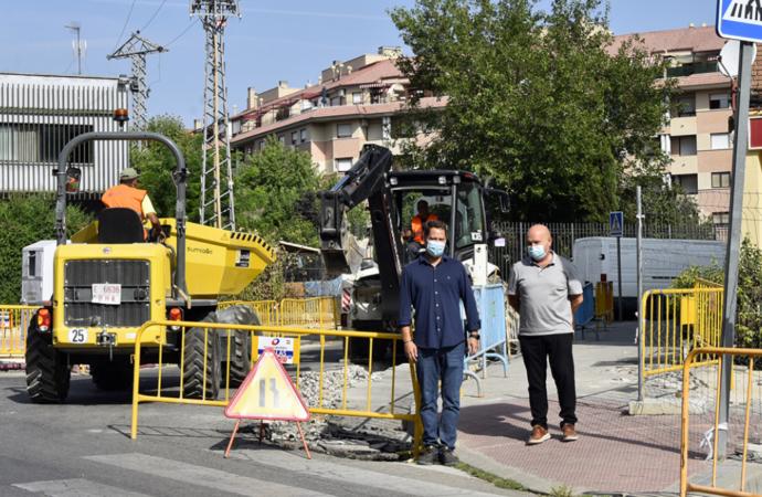 Nueva fase del Plan Renovación Aceras con obras de mejora en 7 zonas de Torrejón de Ardoz