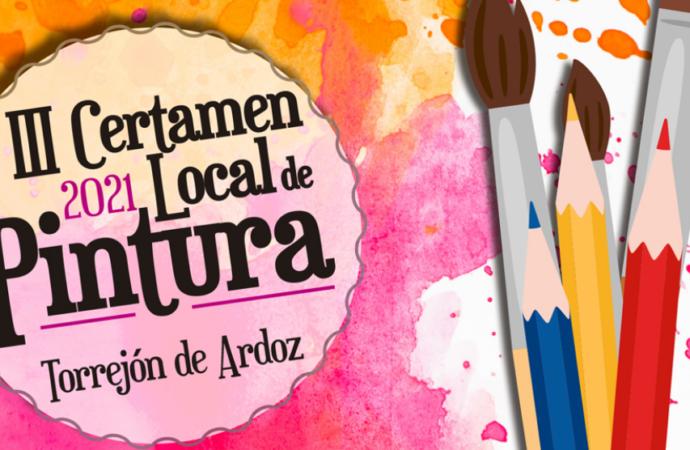 Abierto el plazo para presentar las obras al III Certamen Local de Pintura de Torrejón de Ardoz