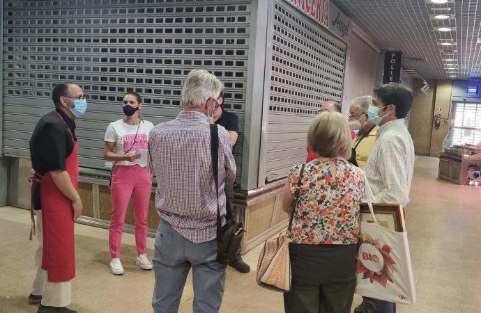El PP de Alcalá exige medidas urgentes para revitalizar el mercado municipal