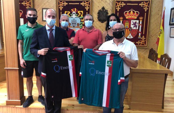 El Ayuntamiento de Horche y Q-Energy firman un convenio para el patrocinio de los equipos federados y de las escuelas deportivas