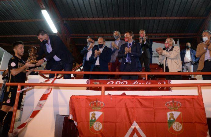La RSD Alcalá cae por 0-4 ante la Cultural Leonesa que se lleva el Trofeo Cervantes de fútbol