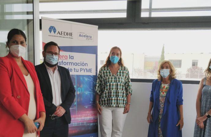 AEDHE inaugura la Oficina de Transformación Digital Acelera Pyme de Paracuellos de Jarama