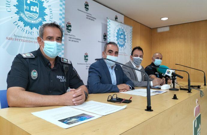 Javier Corpa, alcalde: «San Fernando de Henares es, en términos generales, una ciudad segura»