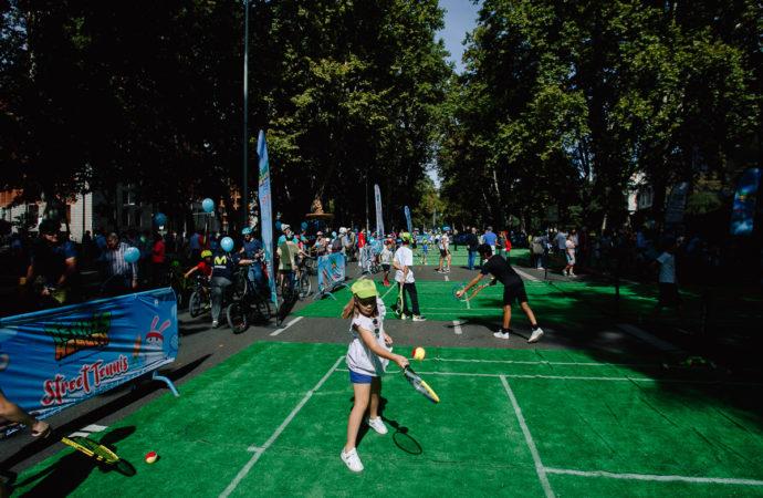 Alcalá acogerá este domingo 19 una pista de mini-tenis para fomentar este deporte entre los más pequeños