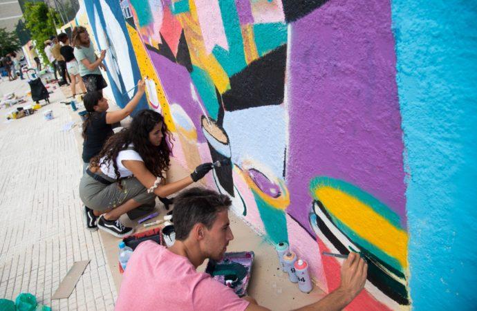 El Arte Urbano llena de color los muros de Alcalá de Henares