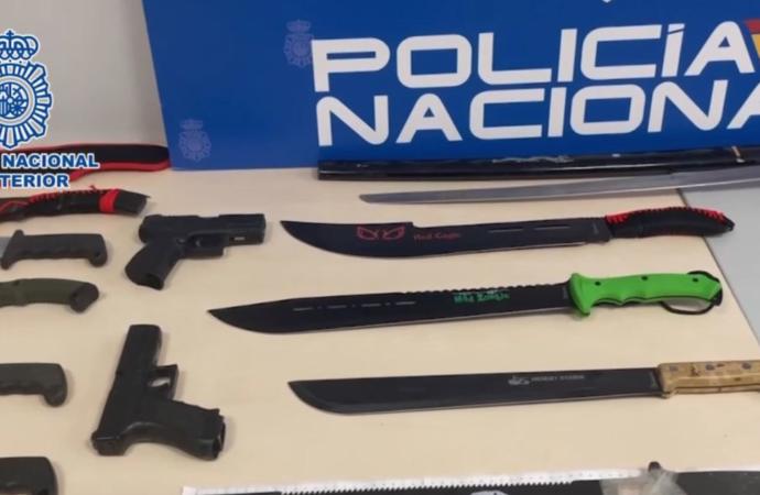 La Policía Nacional detiene a 23 individuos de una banda latina que pretendía crecer en el Corredor del Henares