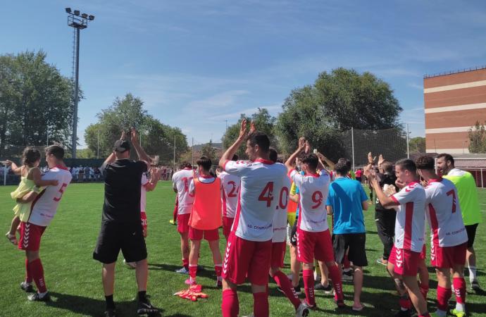 Fútbol. 3ª División. El «Complu» se lleva el derby ante la RSD Alcalá al vencer por 2-1