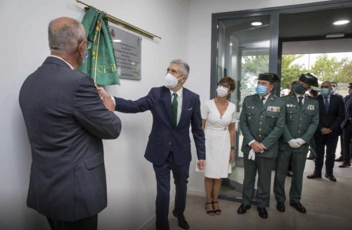 Marlaska inaugura en Villalbilla el nuevo Puesto de la Guardia Civil que también dará servicio a Loeches y Anchuelo