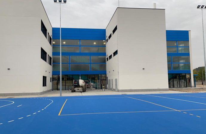 El Instituto de la Garena de Alcalá, listo para abrir su puertas este miércoles con el inicio de curso