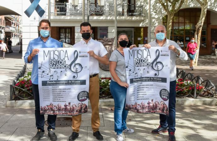 Torrejón pone en marcha la iniciativa cultural gratuita «Música en los barrios»