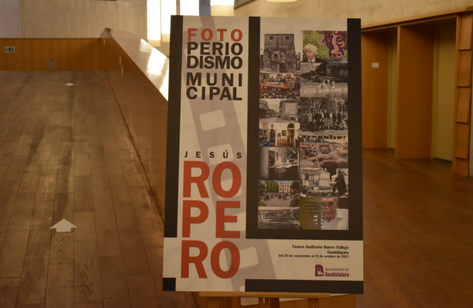 Exposición: la historia de Guadalajara, a través de la mirada del fotógrafo Jesús Ropero, en el Buero Vallejo