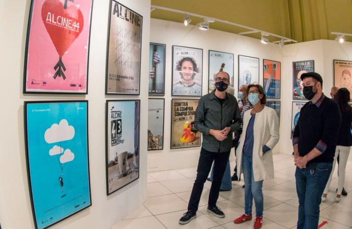 ALCINE50 repasa la historia gráfica del Festival con una muestra que repasa 50 años de carteles en Alcalá