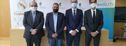La Fundación Real Madrid, el Ayuntamiento de San Fernando de Henares y Exolum renuevan su colaboración por la escuela sociodeportiva de fútbol