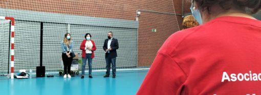 Cerca de 200 mayores realizan actividades físicas en el Pabellón Deportivo M3 de San Fernando de Henares