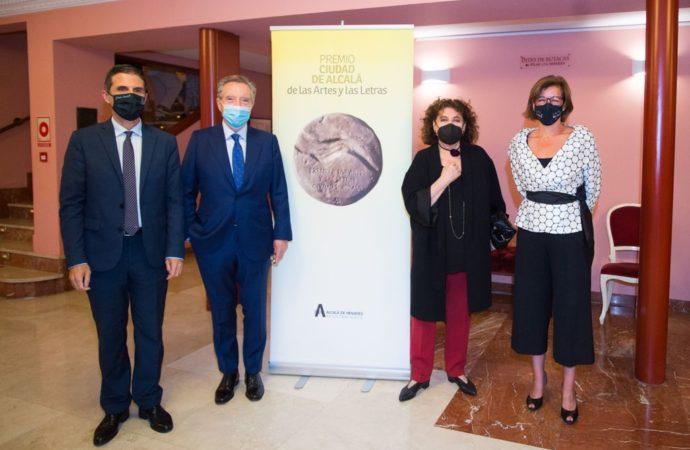Iñaki Gabilondo y Charo López reciben el Premio Ciudad de Alcalá de las Artes y las Letras 2020 y 2021