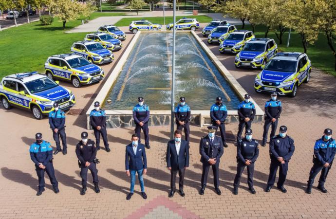 La Policía Local de Torrejón de Ardoz cuenta con 14 nuevos vehículos con una completa dotación