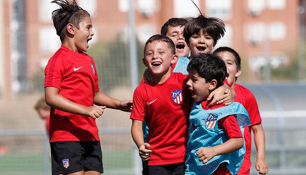 Coslada contará de nuevo con una escuela de tecnificación del Atlético de Madrid para niños y niñas