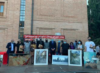 Certamen de Pintura Rápida al aire libre en Alcalá: éstos son los ganadores