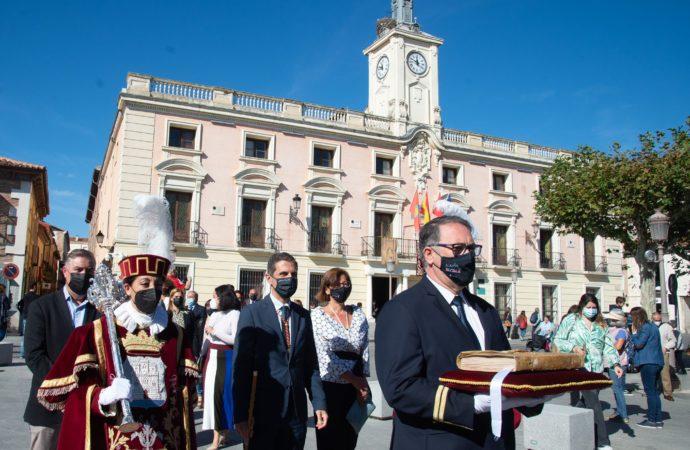 Alcalá celebra su día grande con diferentes homenajes a su vecino más ilustre, Miguel de Cervantes