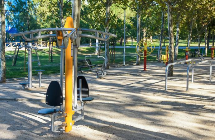Abren 3 nuevos Gimnasios («Street-Gym») al aire libre en Torrejón de Ardoz con entrada gratuita